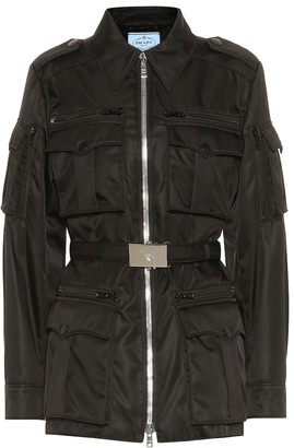 Prada Nylon military jacket