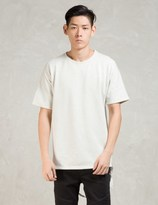 Stampd White S/S Tyse Crew W/strap T-Shirt