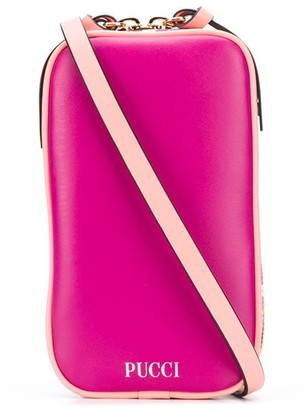 Emilio Pucci x Koche logo-print crossbody bag
