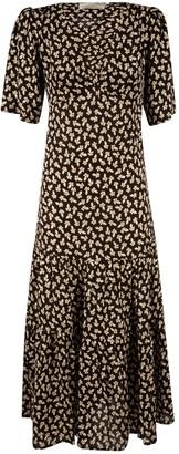LES COYOTES DE PARIS V-neck Long Dress