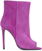 Off-White open toe bootie - women - Leather/Calf Suede - 37