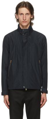 Paul Smith Navy Hooded Bomber Jacket
