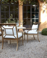 Horchow Two Sophia Outdoor Dining Chairs