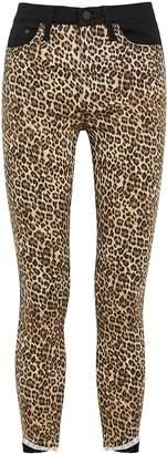 Alice + Olivia Alice & Olivia Jeans Good High Rise Leopard-print Skinny Jeans
