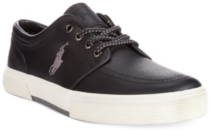 Polo Ralph Lauren Faxon Low Leather Sneakers Men's Shoes