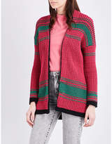 Maje Meditatio knitted cardigan