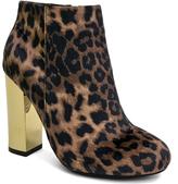 Bamboo Leopard Velvet Scenery Boot