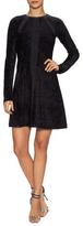Issa Heidi Astrakan Effect Jacquard Dress