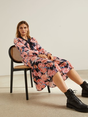 Somerset by Alice Temperley Chintz Floral Dress, Pink