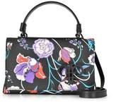 Emilio Pucci Women's Black Pvc Shoulder Bag.
