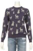 Paul & Joe Sister Jacquard Lurex Animal Sweater