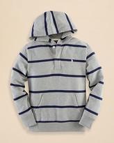 Ralph Lauren Boys' Stripe Fleece Hoodie - Sizes S-XL