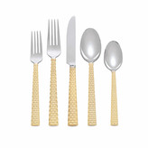 Michael Aram Palm Gold 5-Piece Cutlery Set