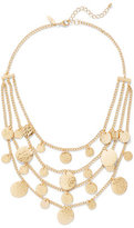 New York & Co. Layered Disc Statement Necklace