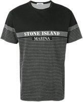 Stone Island logo printed T-shirt - men - Cotton - L