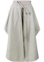 Rosie Assoulin Jasmine double layered trousers - women - Cotton/Linen/Flax - 4