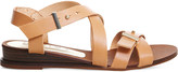 Office Savanna leather wedge sandals