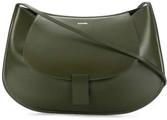 Jil Sander half-moon shoulder bag