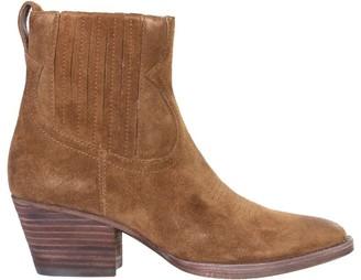 Ash Faith Western-Style Ankle Boots