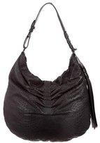 Halston Gathered Shoulder Bag