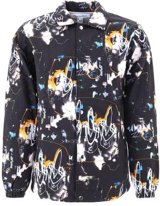 Comme des Garçons Shirt Futura Print Coach Jacket