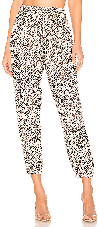 ATM Anthony Thomas Melillo Lunar Leopard Silk Jogger