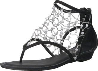 Zigi Women's Madilyn Sandal Black 8.5 Medium US