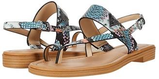 GUESS Geesa (Black Multi) Women's Sandals