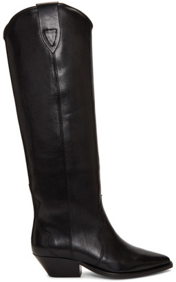 Isabel Marant SSENSE Exclusive Black Denvee Boots
