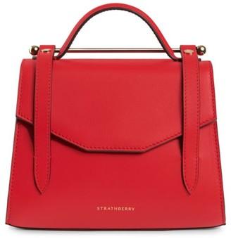 Strathberry Mini Allegro Leather Satchel
