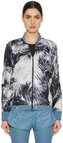 adidas by Stella McCartney Palm Printed Nylon Running Jacket