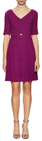 Plenty by Tracy Reese Laced V-Neck Fit And Flare Dress