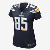 Nike NFL Los Angeles Chargers Game Jersey (Antonio Gates) Women's Football Jersey