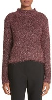 Ellery Women's Vaporize Textured Metallic Sweater