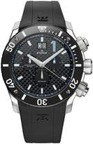 Edox Men's 10020 3 NBU Class 1 Chronograph Big Date Dial Watch