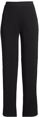 Misook Knit Wide-Leg Pants