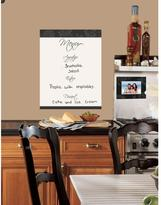 RoomMates Dry Erase Menu Peel and Stick Giant Wall Decal