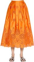 Rochas San Gallo Lace Duchesse Midi Skirt