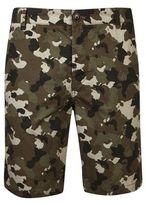 Burton Burton Threadbare Khaki Camouflage Shorts*