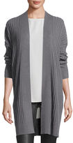 Eileen Fisher Fisher Project Cozy Ribbed Elongated Cardigan