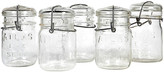 One Kings Lane Vintage Small Kitchen Canning Jars - Set of 5 - 2-b-Modern - clear