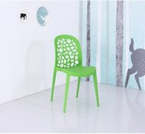 Toscano Dining Chair Ebern Designs Color: Green