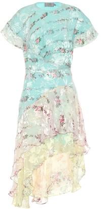 Preen by Thornton Bregazzi Paula silk-satin asymmetric dress