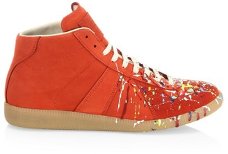 Maison Margiela Paint Splatter Replica Sneakers