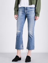 Citizens of Humanity Estella distressed flared high-rise jeans