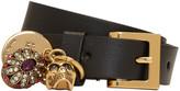Alexander McQueen Black Fly Double-Wrap Bracelet