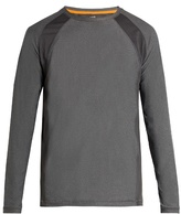 Casall Mix Mesh long-sleeved performance T-shirt