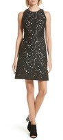 Kate Spade Women's Floral Cutwork A-Line Dress