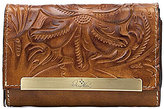 Patricia Nash Burnished Tooled Collection Cametti Wallet