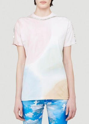 Collina Strada Crystal Embellished T-Shirt